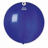 """27"""" (69 см) пастель синий G-46 Gemar Италия латексный шар"""