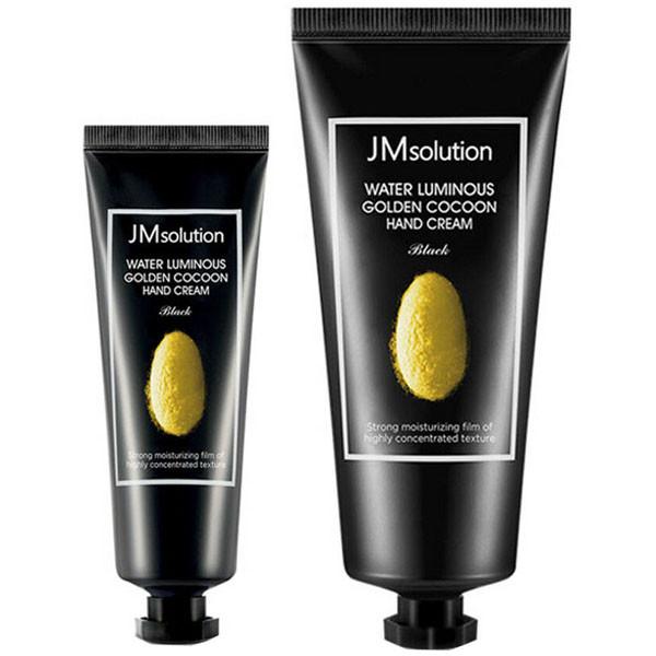 Набор кремов для рук с экстрактом золотого кокона  JMsolution Water Luminous Golden Cocoon Hand Cream 100+50мл
