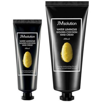 Набор кремов для рук с экстрактом золотого кокона  JMsolution Water Luminous Golden Cocoon Hand Cream 100+50мл, фото 2