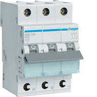 Автоматичний вимикач QC 3P 6kA B-40A 3M