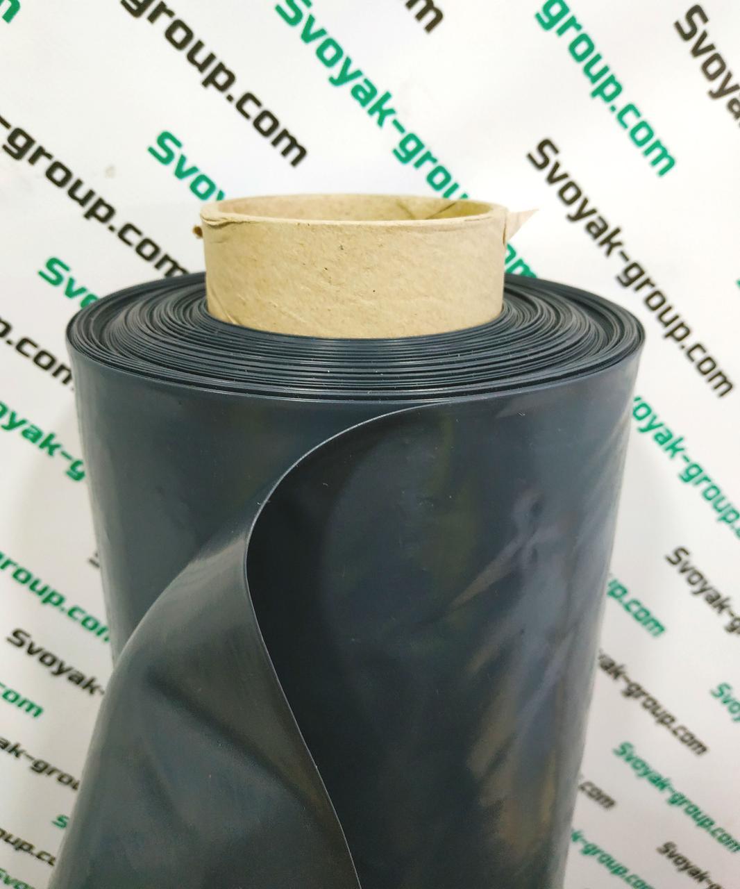Пленка черная вторичная 140 мкм, 3м.х100м.Полиэтиленовая ( для мульчирования, строительная).