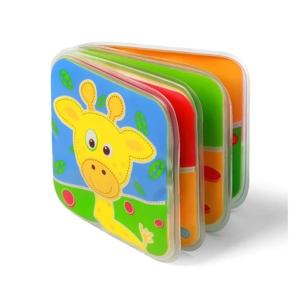 Книжка для ванной Baby Ono с пищалкой, 9 x 9 см