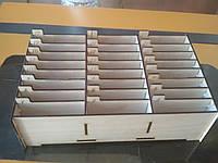 Подставка-Органайзер для мобильных телефонов 24 ячейки пронумировані