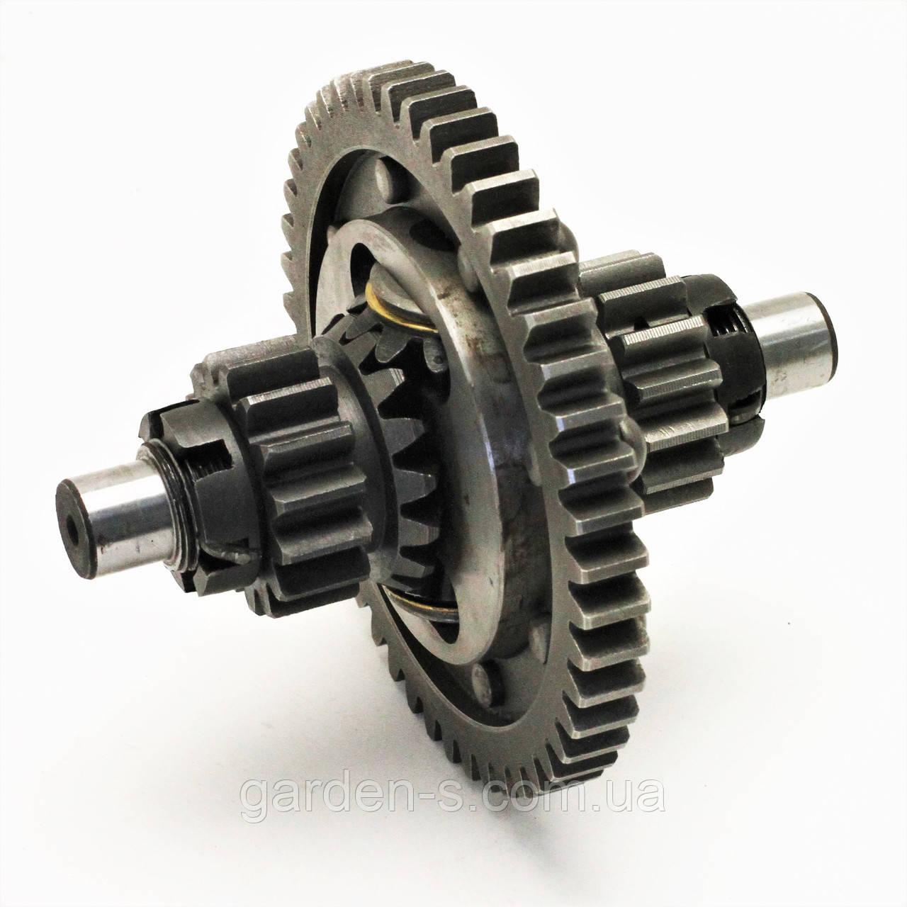 Дифференциал для мототрактора минитрактора (на заклёпках)