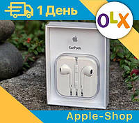 Наушники Apple Earpods 3.5 mini jack • Эпл iPhone 5/5s/6/6s •ОРИГИНАЛ•