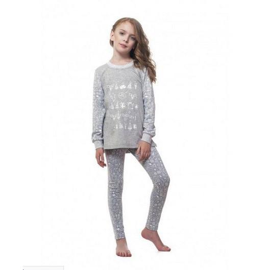 Пижама детская для девочки Рождественская Ellen