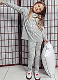 Пижама детская для девочки Рождественская Ellen, фото 2