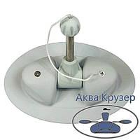 Уключина поворотная для надувной лодки ПВХ, цвет серый