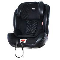 Детское автокресло черное крепление isofix CARRELLO Alto CRL-11805 ISOFIX Black Panter детям от 1 до 12 лет