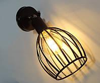 """Настінний металевий світильник, поворотний, стельова лампа, на одну лампу,  """"CACHE/LS"""""""