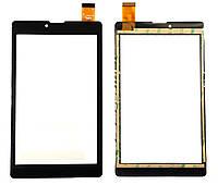 """Сенсор (Тач) для планшета 7"""" Impression ImPad B701   B702   M701 30pin (184x106) Тип 1 (Черный) Оригинап Китай"""