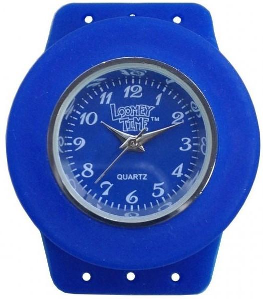 Часы кварцевые Loomie Time с одной Синей оправой Rainbow Loom 7867