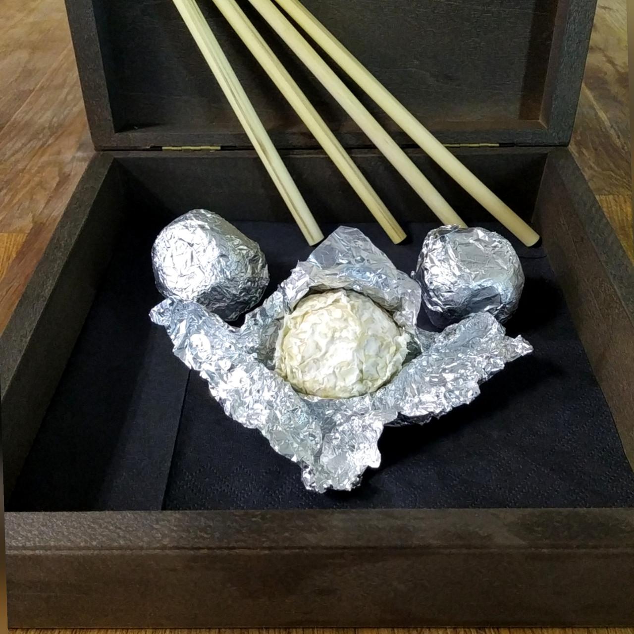 Сир Перлина з трюфелем та білою пліснявою 1шт ф.г. Коза Джалі