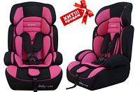 Автокресло Baby-Coo PRINCE 9-36 кг, розовое