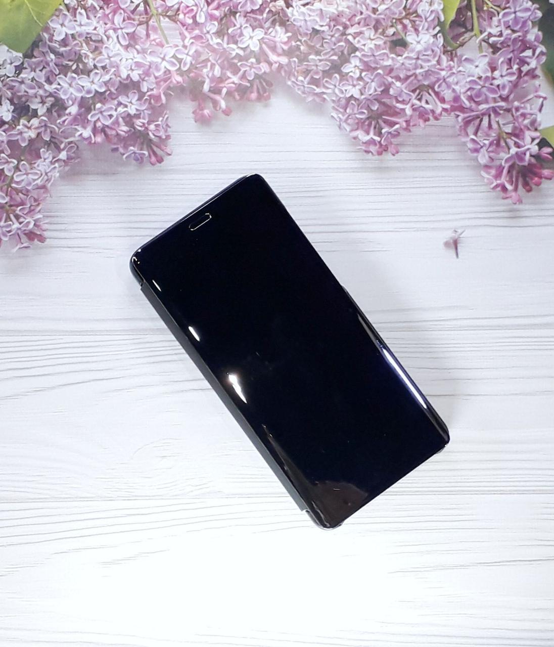 Чехол - книжка Clear View Standing Cover для Samsung A9 (18), Black
