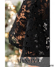 Платье женское нарядное гипюровое, фото 3
