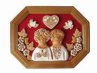 Картина Влюбленная парочка (восьмиугольная) (Картины, панно)
