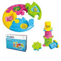 Игра детская TY9050  пирамидка, Tanny toys