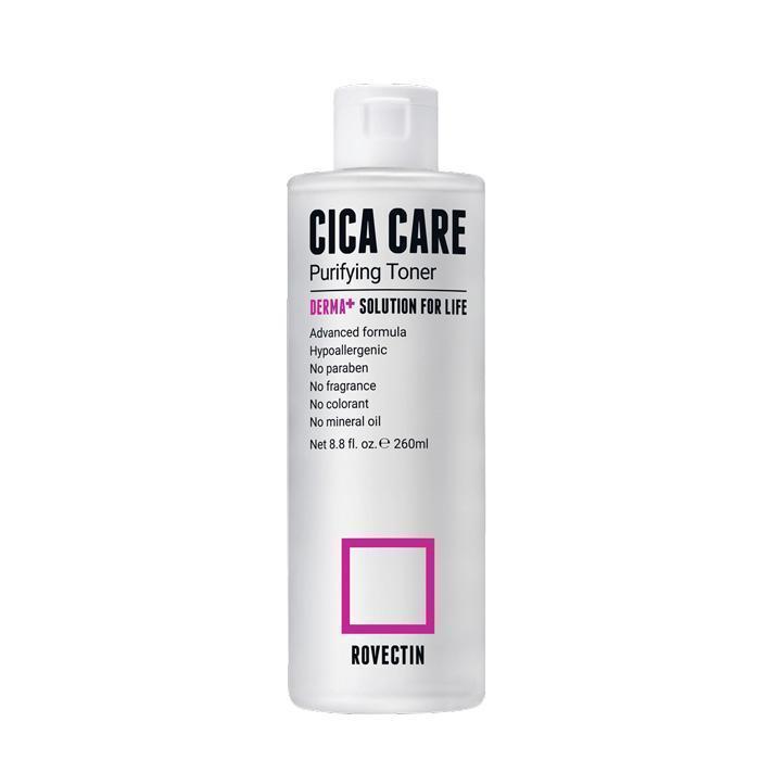 Тонер для чутливої і проблемної шкіри Rovectin Skin Essentials Cica Care Purifying Toner, 260 мл
