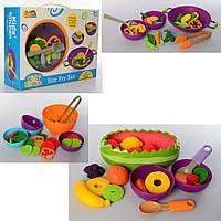 Продукты игрушечные 2103/2104/2105  тарелка3шт, Bambi