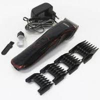 Триммер машинка для стрижки волос бритва мужская Rozia HQ222T