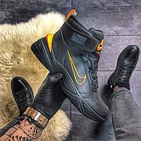 Зимние кроссовки Найк / Nike M2K Tekno MID Orange Black