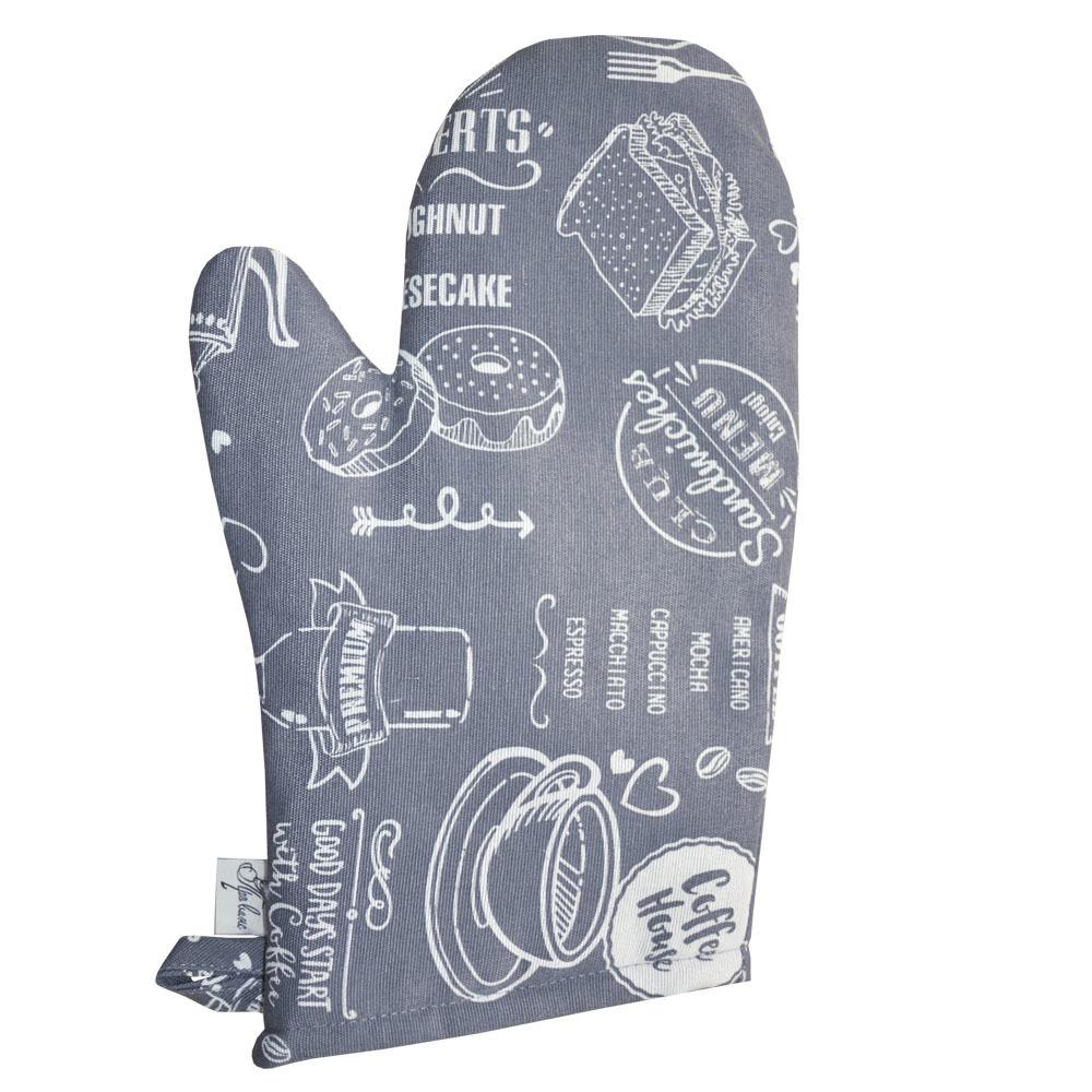 Кухонная рукавичка Breakfast grey ТМ Прованс