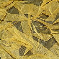 Сетка мягкая тонкая желто-серая ш.165 ( 14334.048 )