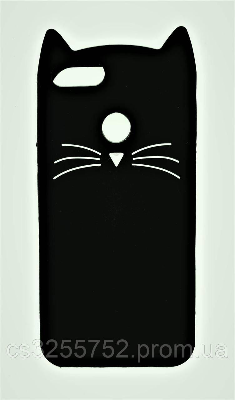 Силикон Xiaomi Redmi 5X  Mi A1 Cats black