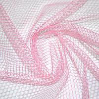 Сетка жесткая соты бледно-розовая ш.150 ( 14338.001 )
