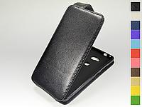 Откидной чехол из натуральной кожи для Huawei Honor 5x / GR5