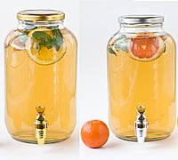 Диспенсер для лимонада крышка золото 4,25 л
