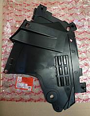 Защита бампера левая Dacia Logan фаза 2 (Asam 30262)(среднее качество)