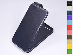 Откидной чехол из натуральной кожи для Huawei Honor 9
