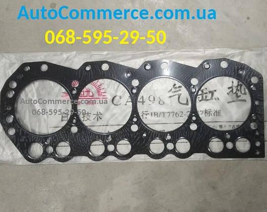 Прокладка головки блока цилиндров ГБЦ FAW 1051, Фав 1051(метал), фото 2