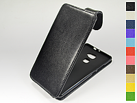 Откидной чехол из натуральной кожи для Huawei Mate S Dual Sim
