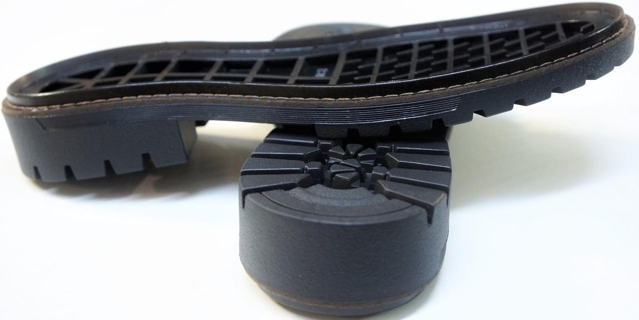 Подошва для обуви женская Астра-12(черно-коричневый) р.38,41