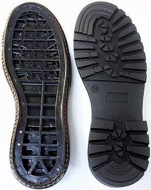 Подошва для обуви женская Астра-12(черно-коричневый) р.38,41, фото 2