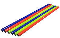 Палка гимнастическая тренировочная (штанга) пластик 80см