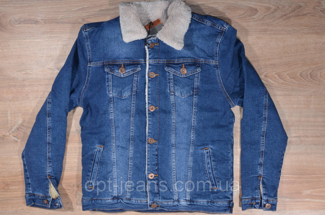 RED MOON куртка джинсовая мужская  (S-XL/4шт.) (XL-4XL/4шт.) Осень-Зима 2019