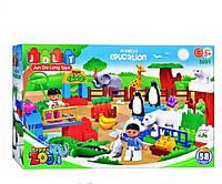 Конструктор зоопарк JDLT 5091, развивающая игрушка, подарок для ребенка