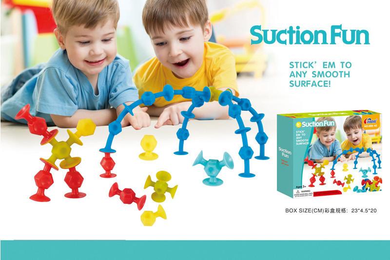 Конструктор Логика-липучка 588-42, развивающая игрушка, подарок для ребенка