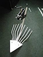 "Мотоблок Евро-Z8 (дв.""B&S"") + картофелекопалка + металлические колеса + окучник + плуг + масло 2 л, фото 1"