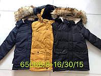 Зимняя куртка на меху для мальчиков Seagull 8-16 лет