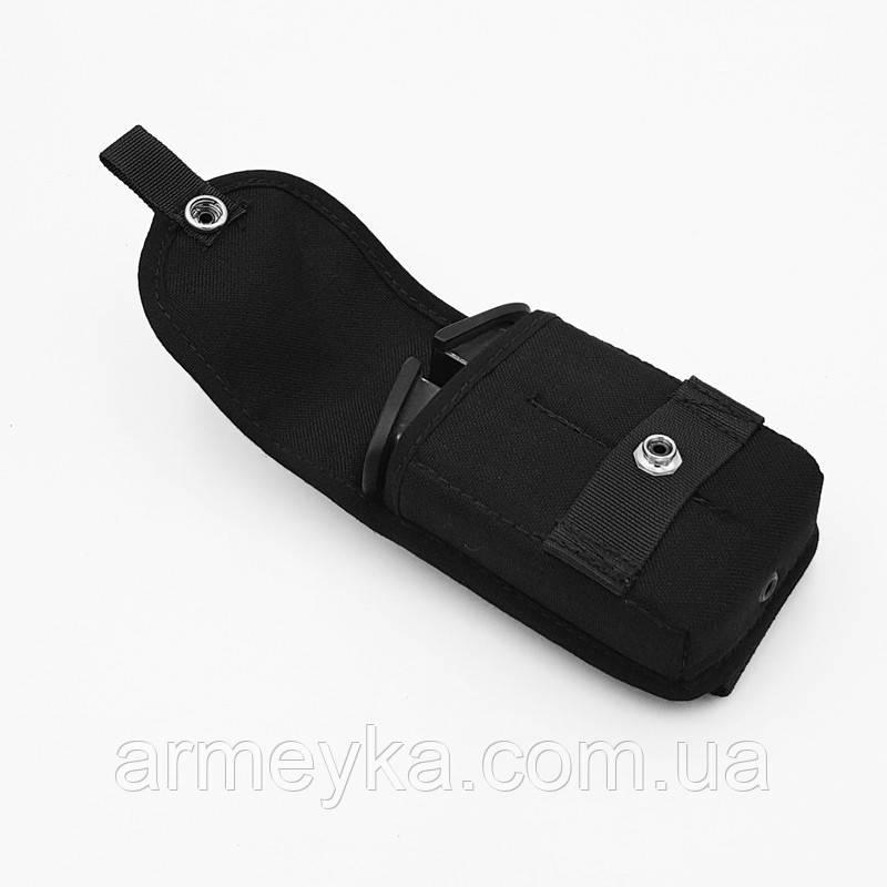 Подсумок для 2-х пистолетных обойм (Форт, Glock), нейлон. Великобритания, оригинал.
