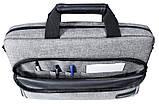 Сумка для ноутбука 15.6 Grand-X SB-139 G, серая., фото 3