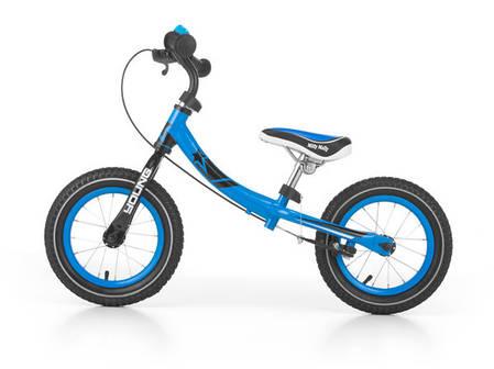 Детский беговел Milly Mally Young (синий(Blue)), фото 2