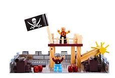 Кукольный домик aGa4kids Пиратская крепость 63284, фото 3