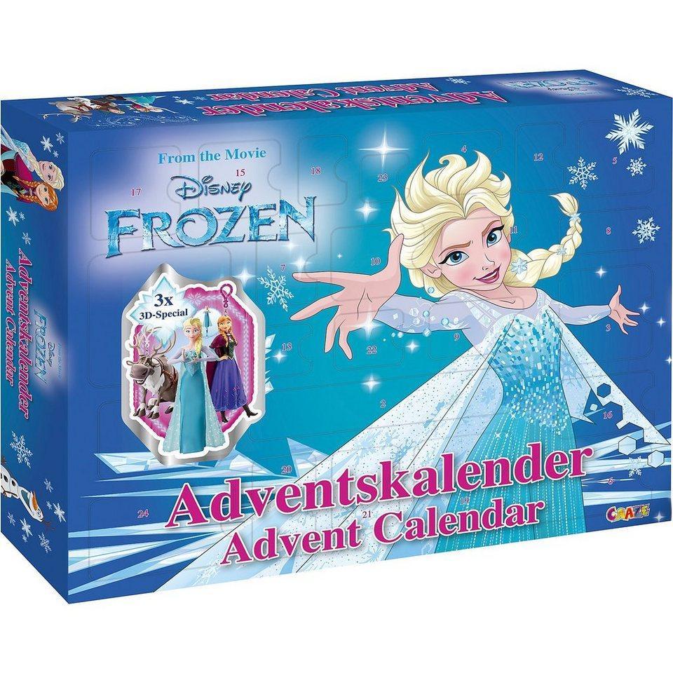 Frozen Disney Адвент календар Крижане серце Адвент календарь Холодное сердце. Craze (Германия)