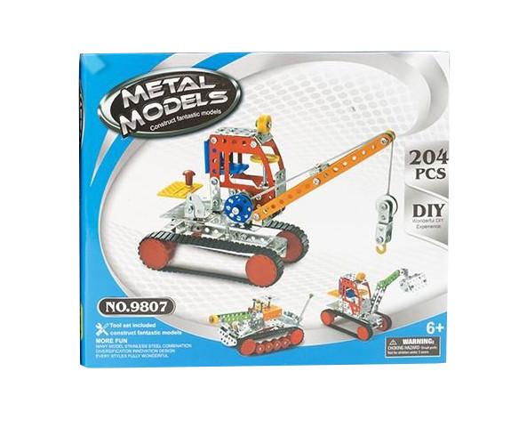 Конструктор 980 (9807), развивающая игрушка, подарок для ребенка